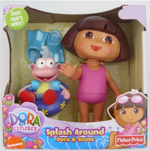 Dora la Exploradora X3980 – Dora Salpicones Amusants (Mattel)