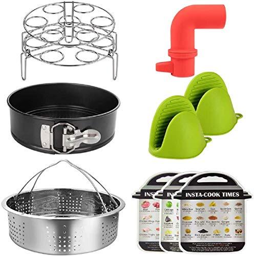 Korb für Instant Pot Zubehör Edelstahl Steam Instant Basket für Zuhause*