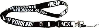 Bold New York Letter Lanyard Clip Keychain ID Cell Phone Holder - 23
