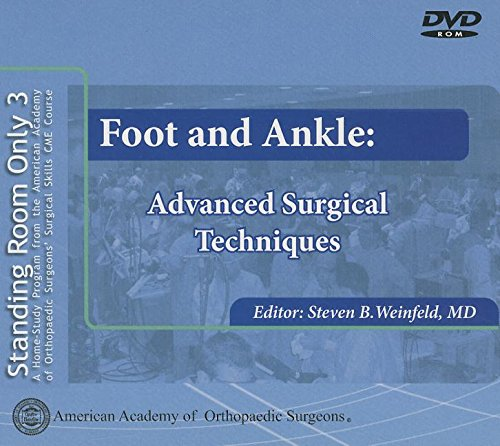 Foot and Ankle (Standing Room Only)