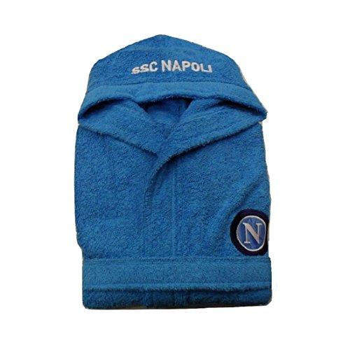 Accappatoio Spugna Bambini Napoli - Prodotto Ufficiale SSC Napoli (13-14 Anni)