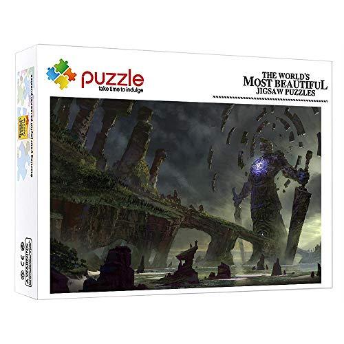 ZTCLXJ 1000 Piezas Adultos Puzzle Hombre De Piedra Gigante 1000 Piezas Junior Puzzle Infantil para Niños Adultos Cumpleaños Navidad Regalo para Regalos De Cumpleaños Hijo Hija 15 X 10 Pulgada