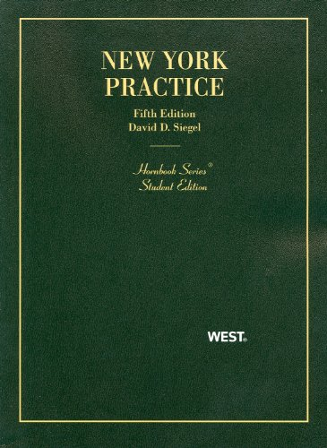 New York Practice, 5th Edition, Student Edition