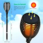 Aityvert Solar Torch Light Upgraded-Flickering Flames Torches Lights-Waterproof Solar Lights Outdoor Landscape… 6