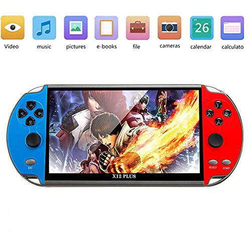 7 inch Video Game Console 3000+ Games X12 plus 16GB ROM Handheld Game Players