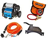 ARB CKMA12 171302 ARB505 Ultimate Wheeler Pack HD Air Compressor and Pump Up Kit and E-Z Tire Deflator and EVO EVO-1097 Large Air Compressor Mount