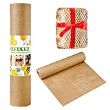 Eco Honeycomb Cushioning Wrap Roll Packing Paper for Moving Breakables 15'x 98' Perforated-Packing, 1 Roll 98 Ft Biodegradable Packaging Paper Alternative to Bubble Cushioning Wrap for Shipping