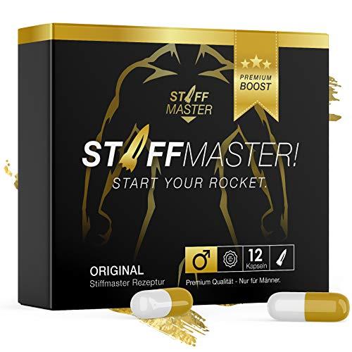 *EINFÜHRUNGSPREIS* STIFFMASTER - Das Natürliche Potenzmittel mit der Einzigartigen Master-Power Formel I NEUTRALE LIEFERVERPACKUNG I 4 Hochdosierte Inhaltsstoffe