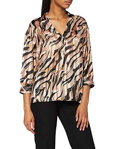 comma Damen Shirt Bluse, 99A6, 38