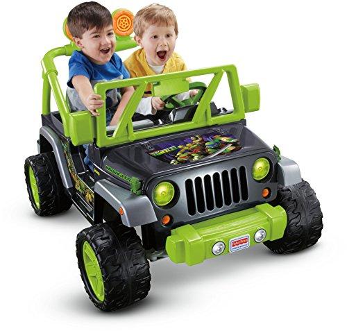 Power Wheels Teenage Mutant Ninja Turtle Jeep Wrangler