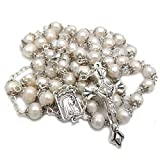 CMC Rosary Beads Catholic for Woman - Natural...