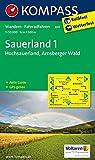 KOMPASS Wanderkarte Sauerland 1 - Hochsauerland - Arnsberger Wald: Wanderkarte mit Aktiv Guide und Radrouten. GPS-genau. 1:50000: Wandelkaart 1:50 000 (KOMPASS-Wanderkarten, Band 841)