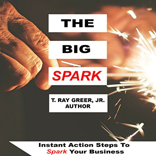 The Big Spark     Instant Action Steps to Spark Your Business              By:                                                                                                                                 T. Ray Greer Jr.                               Narrated by:                                                                                                                                 Maribeth Merrill                      Length: 50 mins     Not rated yet     Overall 0.0