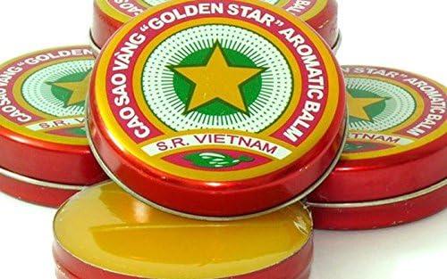 06 Boxes X 10 Grams Low price SALENEW very popular! Net Weight Sao Vang Cao Golden Star Balm