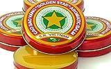 06 Boxes X 10 Grams (Net Weight), Golden Star Balm, Cao Sao Vang Vietnam, Aromatic Balsam