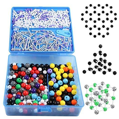 SUI 634pcs Chemical molekulares Modell Experimentelle Ausrüstung Ball und Stock-Anteil Molekülstruktur Modell Molecular Model Kit for den Unterricht