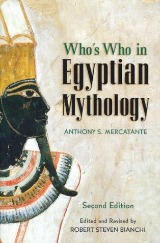 Who's Who in Egyptian Mythology