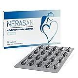 Nerasan 600 mg | Energizzante Naturale con Ginseng y Azafran | Sin Ninguna Contraindicación | Made In Germany | 60 Cáps.