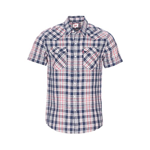 Levi's S/S Barstow Western Shirt, Camicia Uomo