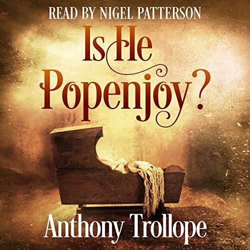 Diseño de la portada del título Is He Popenjoy?