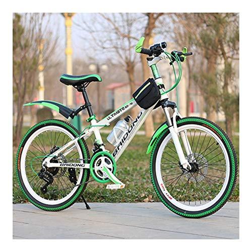 QAZ 21/24/27 Montaña Velocidad Bici 20/22/24 / 26inch de Velocidad Variable Delantera de la Bicicleta y Traseros de Discos Frenos Multicolor for Bicicleta de montaña Rueda