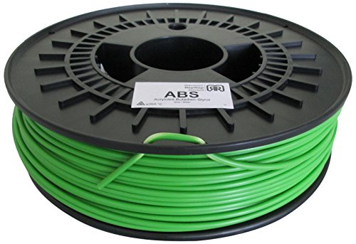 German RepRap ABS Filament, 750 g, 3 mm, grün