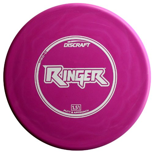 Discraft Ringer Pro D Golf Disc, 167-169 grams, Colors may vary