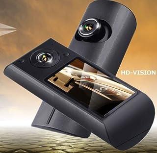 GPS搭載 ドライブレコーダー Google Map 連動 前後カメラ搭載両面撮り 車内・車外を同時撮影 衝撃 Gセンサー機能あり デュアルレンズ 常時録画 上書き式 A0131