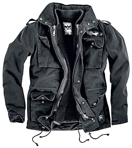 Black Premium by EMP Army Field Jacket Winterjacke schwarz S