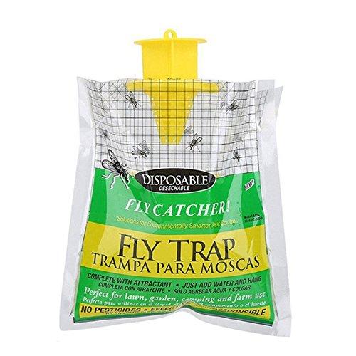 MENGZHEN 1 stks niet-giftige redding buiten wegwerp vliegenvanger vliegenval bug opknoping aas tas