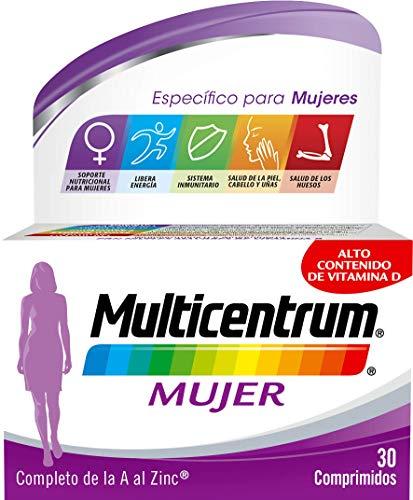 Multicentrum Mujer, Complemento Alimenticio con 13 Vitaminas