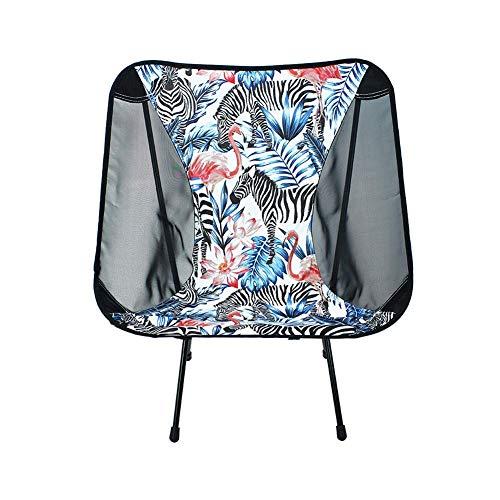 Camping Liegestuhl mit Getränkehalter, abnehmbarem Beistelltisch und Tragetasche, geeignet für Outdoor, Surfen und Angeln (59 * 50 * 64CM)