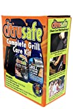 Bryson Industries Grill Cleaning Kit - BBQ Grid and Grill Grate Cleanser, Exterior Cleaner, and Scrubber by Citrusafe (16 oz Each) (1) (1)