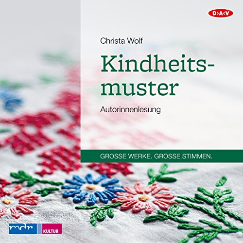 Kindheitsmuster audiobook cover art