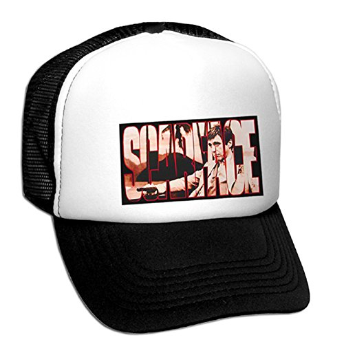 Bastart Tony Montana the Cocain Dealer Casquette en maille filet