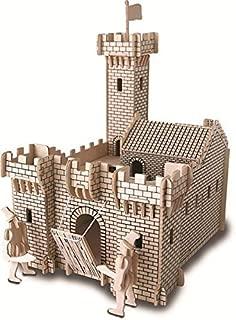 ULT-unite SEA-LAND 3-D Wooden Puzzle (Knight Castle)