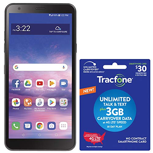 Tracfone LG Journey 4G LTE Prepaid Smartphone (Locked) with $30 Airtime Bundle