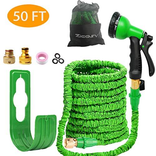 Zicosy Garden Hose-50ft Expandable Hose - Heavy Duty...