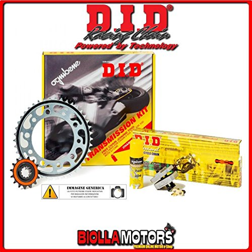 375674000 KIT CATENA CORONA PIGNONE DID DUCATI Monster 696 2009-696CC