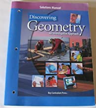 Discovering Geometry: An Investigative Approach, Solutions Manual
