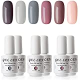 Best Polish Nails - Gellen Gel Nail Polish Set - 6 Colors Review