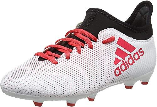 adidas Unisex X 17.3 FG Fußballschuhe, Mehrfarbig (Greyreacorcblack), 38 EU