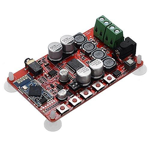 ILS–TDA7492P 25W + 25W Bluetooth CSR4.0Audio Receiver Concilio Amplificador Digital