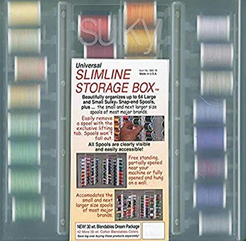 Fantastic Prices! Sulky Of America 30wt 3rd Set Sulky Blendables Cotton Thread