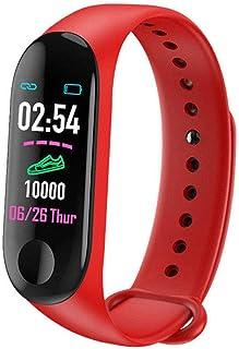 Frecoccialo Pulsera Actividad Impermeable IP65 Pulsera de Actividad Inteligente Rastreador Deportiva con Pulsómetro Monitor de Ritmo Pulsera Reloj