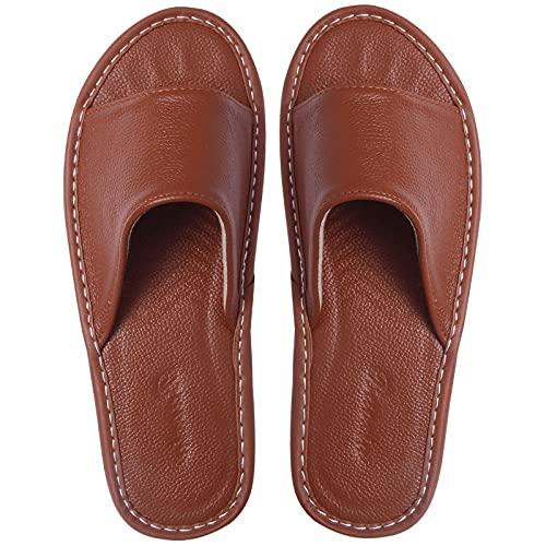 ypyrhh Sandali Unisex-Adulto,Pantofole da casa Estate,Anti-Skid Morbido,Sandali Domestici-caffè Leggero_37-38,Spiaggia Unisex Pantofole da Bagno Sandali