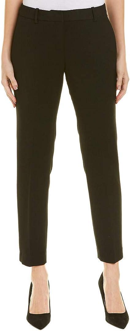 TAHARI Womens Solid Casual Trouser Pants