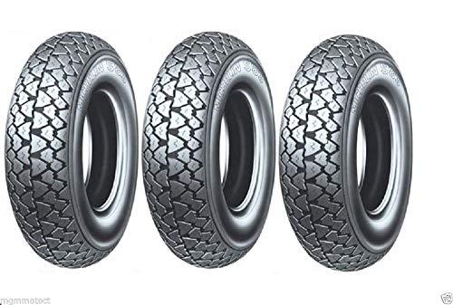 Trois pneus Pneu Michelin s83 3.50 10 59J TL pour piaggio aPE 50