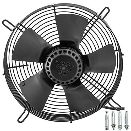 Mophorn Ventilador de Rotor Externo AXIAL Motor de Cuatro Polos de Cobre Puro Alta Velocidad de 1450 rpm de 65W