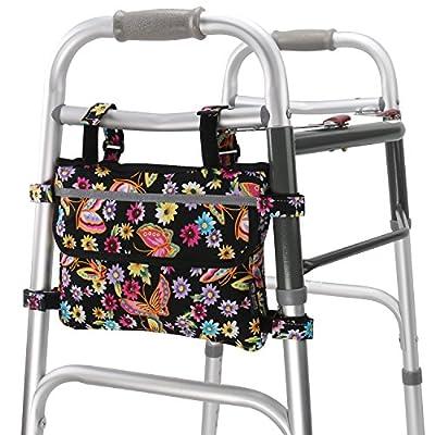 GUOER Walker Bag Suitable for Multiple Walking AIDS Rollator Bag Multi-Size Multiple Colors